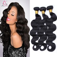 Human Hair Weave 3 Bundles European Virgin Cabelo Humano Body Wave Unprocessed Pacotes de cabelo humano Atacado Body Wave Fast Shipping