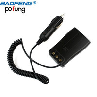Wholesale Two Way Adapter - Baofeng BF-888S BF-777S BF-666S Car Charger Battery Eliminator Adapter DC 12V For Two Way Radio Walkie Talkie 888S 777S 666S