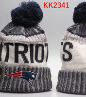 Wholesale Hat Accessories Order - 2017 New England Beanies Pom Knit Hats Patriots beanies world Series Sports Cap Mix Order Top Quality hat Winter Wool Hats free ship