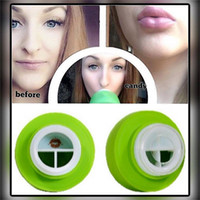 Wholesale lip plumping enhancer - NO LOGO Girls Lip Plumpers for Apple Lips Enhancer Double or Single Lobed Lip Suction Plumper lips candylipz Beauty Lips Care Tools