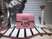 Wholesale Girl Fashion Designer Dress - Cow Leather women Flap shoulder bags Luxury brand designer handbag original fashion 4 color size 19x16x7cm model 177702041