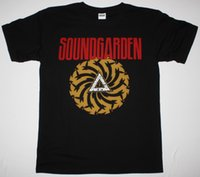 SOUNDGARDEN BADMOTORFINGER'92 AUDIOSLAVE GRUNERGE SEATTLE BAND NEW BLACK T-SHIRT Футболка с длинным рукавом
