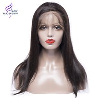 Wholesale Black Hair Weave Hairstyles - Brazilian Straight Human Hair Lace Front Wigs Brazilian Virgin Hair Weave Human Wigs for Black Women 360 Lace Frontal Hair Wigs
