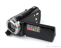 "Wholesale Cheap Tft Lcd - Wholesale- 2.7"" TFT LCD 16MP Digital Camera HD 720P Photo Video Camcorder 16X Zoom Anti-shake DV LED Light Non-touch Cheap Camera"