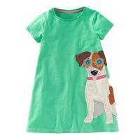 Wholesale Summer Dresses For Kids Sale - Dress Jersey Robe Fille Enfant 2017 Hot Sale 100% Cotton Dresses for Kids Clothing Baby Girl Clothes