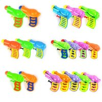Wholesale Toy Bubble Guns - 2017 New Mini Water Gun Catoon Animal Bubble Gun Kids Summer Holiday Swimming Pool Toys Hawaii Beach Party Favors