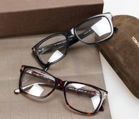 Wholesale Eyeglasses Multicolor - 2017 new TF5176 style frame high-quality pure-plank full-rim prescription glasses frame eyeglasses with original case wholesale freeshipping