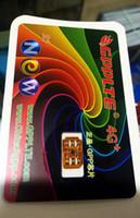 Wholesale Sim Unlocking Device - HOT promotion! Lowest PRICE DHL freesiping!NE GPPLTE 4G+ unlock ios10.3 Japan AU softbank GPP LTE 4G pro Smart Cloud Card heiCARD R-SIM rsim