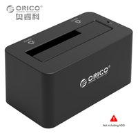 Wholesale Ssd External Hard Drives - Wholesale- USB3.0 & eSATA to SATA External Hard Drive Docking station for 2.5'' & 3.5'' HDD SSD Support 8TB 12V2A Power Adapter(6619SUS3)