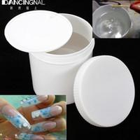 cola de gel uv venda por atacado-Venda por atacado- Profissional 1Pc 1KG Limpar Nail UV Gel Builder Acrílico DIY Beauty Salon Nails Art Tips DIY Manicure Designs Ferramentas