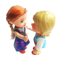 Wholesale Cheap Plastic Baby Dolls - 2017 new girl Toys Dolls Soft Interactive Baby Dolls Toy Mini Doll For Girls High quality cheap gift free shipping