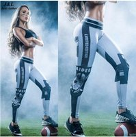 Wholesale classic yoga - Classic Captain America 3D Print Women Mention Hip Sporting Leggings Sexy Yoga itness Pants Female Elastic Workout Clothes Ropa Mujer