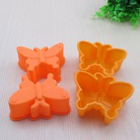 Wholesale Silicone Handmade Soap Eu - Animal Silicone Candy Molds Cake Baking Mold Cake Pan Muffin Cups Handmade Soap Moulds Biscuit Chocolate Ice Cube Tray DIY Molds