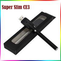 Wholesale Newest E Cigarette Battery - NEWEST O Pen CE3 Vape Battery 300mAh E Cig 510 Thread LED E Cigarettes For Wax Oil Cartridge Ce3 Battery with Button