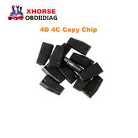 Wholesale 4c Chip Key Programmer - Original For VVDI Key Tool Transponder Chip 4D 4C Copy Chip for XHORSE VVDI Key Tool 10pcs lot