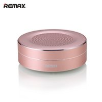 Wholesale Sound Speakers Wholesale - Original Remax RB-M13 Portable Bluetooth Speaker Mini Colorful Round Subwoofer Wireless Speakers HD Sound Support TF Card VS Xtreme Charge 3