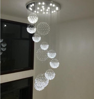 Wholesale Royal Lamps - luxury k9 crystal chandelier hotel lamp villa living room royal family Crystal Chandeliers interior decoration lights