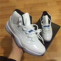 Wholesale Mens Red Patent Leather Shoes - With Box Retro 11 Spaces Jams high cut bred mens and womens Basketball Shoes legend blue Airs 11s Sport Sneakers Velvet Heiress.