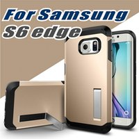 El Nexo De La Galaxia Baratos-Para Samsung Galaxy S7 S7 Edge S6 iPhone 6s Funda, SGP Tough Armor Case para Nexus 6 Extreme Protection Back Kickstand Shell
