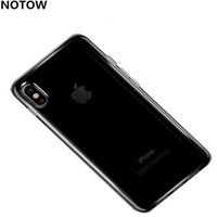 iphone5 için yeni toptan satış-YENI Darbeye Silikon Yumuşak TPU Şeffaf Telefon İnce Kapak iphone Için Coque X için Kılıf iphone5 5 s se / 6 6 s / 6 artı 6 splus / 7/7 artı Kabuk