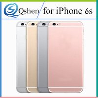 Wholesale Iphone Replacement Side - Replacement Back Housing for iPhone 6S 6S Plus Back Battery Cover Case with LOGO and Side Button