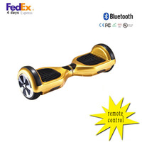 Wholesale Drift Remote - Factrory direct remote control 6.5 inch 2 wheel balance scooter bluetooth hoverboard electric skateboard self drifting board free shipping