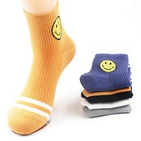 Wholesale Cartoon Faces Socks - Wholesale- 2016 Unisex High Quality Emoji Socks Women Cartoon Smile Face Casual Art Sock Calcetines Mujer Men Cotton Socks B2