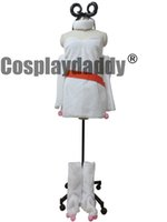 Anime Costumes Women Polyeter Fairy Tail Cosplay Aries White Clothes With Red Belt Costume