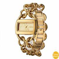 japon movt kadınları izlemektedir toptan satış-PINTIME Marka Lüks Kadınlar Altın Saatler Bayanlar Kalite Japonya Kuvars Movt Saatı Bilezik Relogio Feminino Relojes Mujer