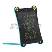 8.5 Zoll LCD E-Writing Writing Board Tablets Notizblock Zeichnung Tablet Graphic New Memo Frosch Cartoon-Stil Ein Klick Removel Board Magnet