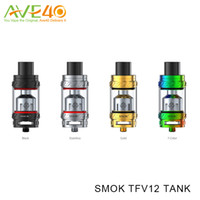 Wholesale Baby Support - Smok TFV12 Tank with Huge 6ml E-juice Capacity and Best Matching with V12-t12 Coil Heads Max Support 350w VS Smok TFV8 Big Baby Atomizer