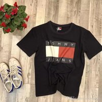 Wholesale Natural Match - Europe loose tee casual shirt T-shirt printing all-match tide kamye west pigalle vetements suprem off white