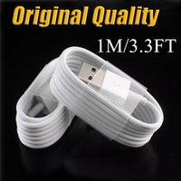 Original Quality Micro USB Cable Adaptateur haute vitesse Chargeur Wire Sync Data Line 1M 3.3Ft Cordons de charge pour HTC Huawei V8 Android Phone