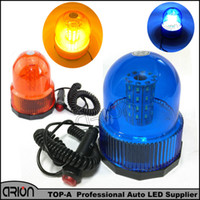 Wholesale emergency blue light bars - Blue Amber 40 SMD 40 LED Car Auto Truck Flashing Warning Lights Police Fireman Beacon Strobe Emergency Light Bar 12V 24V