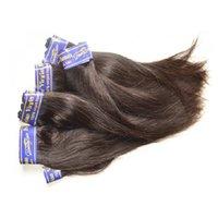 Wholesale Guangzhou Virgin Hair - Guangzhou hair products suppllier unprocessed peruvian virgin human hair silk straight mixed 10bundles 500g lot 7A grade natural black color