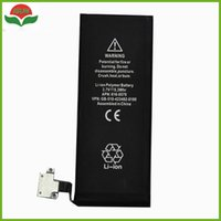 Wholesale Li Ion China - ISUN Real Capacity Genuine Replacement Li-ion Battery For Apple 4S For iPhone 4S China Factory