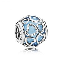 Wholesale Encased in Love Charm Solid Silver Fit Pandora Bracelets Factory