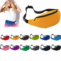 Wholesale Wholesale Running - Sport Runner Fanny Pack Travel Handy Hiking Waist Belt Fitness Running Jogging Bum Bag Zip Money Pouch Purse Waist Bag KKA2090