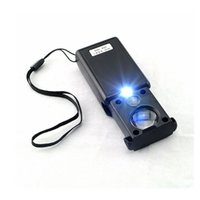 Wholesale pull type - 30X 60X Pull Type LED Light Jeweller Identifying Magnifying Optical Magnifier