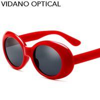 Wholesale Hot Sun Glasses For Women - Vidano Optical 2017 New Arrival Cool Party Oval Sunglasses For Men & Women Fashion Designer Classic Hot Sale Round Sun Glasses UV400