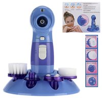 Wholesale Perfect Power - 4 in 1 Multifunctional Power Perfect Pore & Electric Facial Cleaning Brush Skin Cleaner Face Washing Machine Blackhead Remover