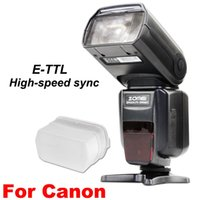 Wholesale Zomei ZM560T Pro High Speed E TTL Flash Flashlight Flashlite For Canon D Mark II III D D D D D D D D DSLR Camera