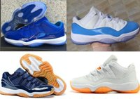 Wholesale Cool Mints - High Quality Retro 11 Space Jam Bred Gamma Blue Casual shoes Men Women 11s Concords 72-10 Legend Blue Cool Grey Sneakers 36-47