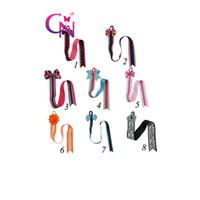 Wholesale Baby Clip Hangers - 16 Pcs lot Kids Girl's Hair Bow Hanger Grosgrain Ribbon Baby Hair Clip Holder Storage Organizer