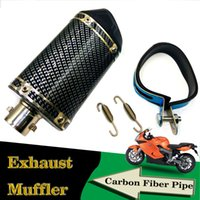 Wholesale Muffler Dual Tip - dual tip motorcycle exhaust muffler pipe new motorcycle muffler very good quality and deliver immediately