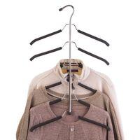 Wholesale China Coat Designs - Design in China Multi-purpose hanger seamless slip wardrobe clothes hanger for clothes home clothes hang up coat hanger