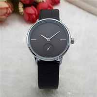 Wholesale Hot Sale Dresses For Work - Dress women luxury brand watches Small Dial Works Crocodile pattern Leather Strap Quartz wrist watch For ladies girls best gift hot sale