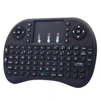 Wholesale fs remote resale online - hot Wireless Keyboard rii i8 keyboards Fly Air Mouse Multi Media Remote Control Touchpad Handheld for TV BOX Android Mini PC B FS