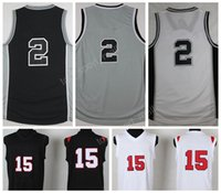 sport homes - 2017 Sport Kawhi Leonard Jersey San Diego State Kawhi Leonard College Jerseys Basketbal Uniforms Home Black Gray White with player name