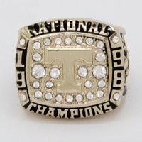 Wholesale Gold University Ring - 1998 Tennessee University Champion Ring